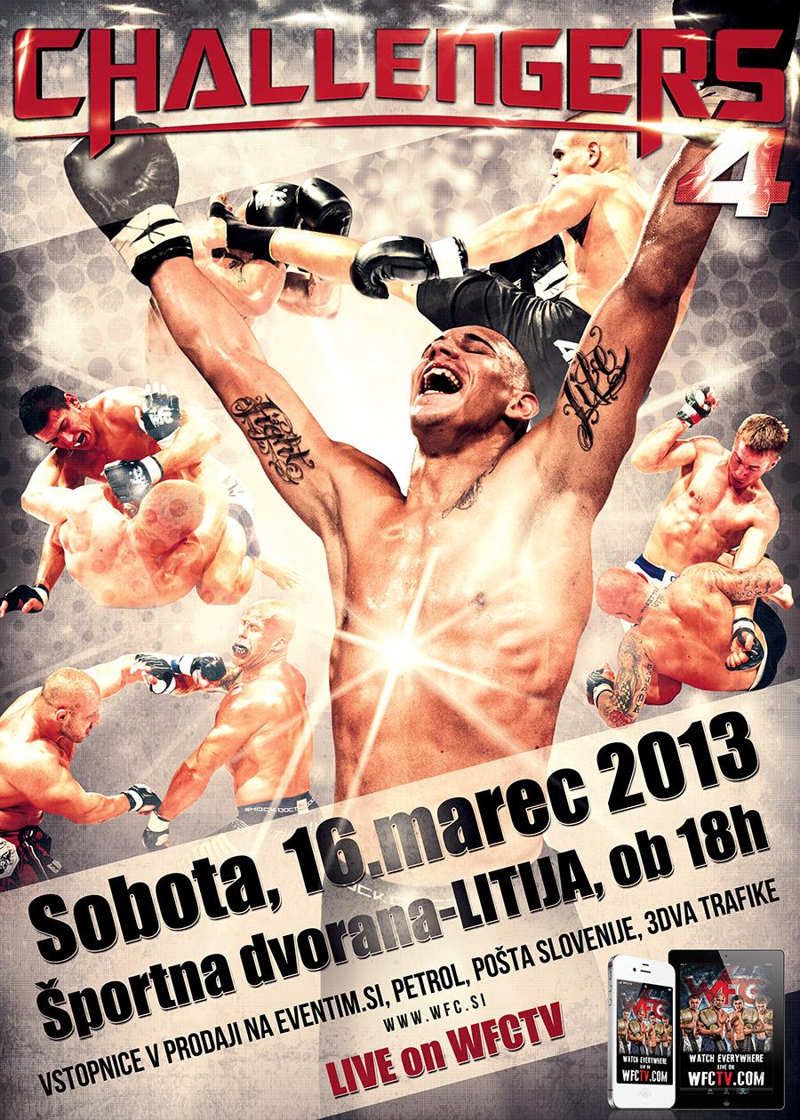 WFC Champions - WFC, World Freefight Challenge Slovenia