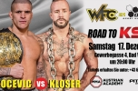 WFC 21 card changed, Bakocevic will face Kloser